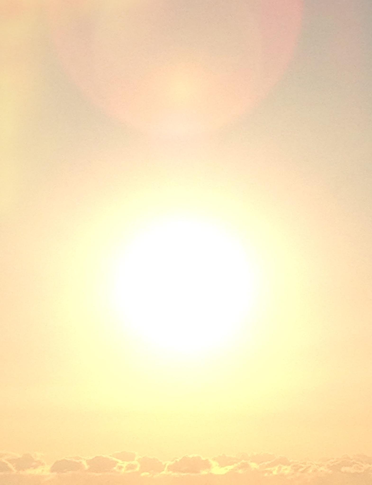 美しい光の朝模様でした♪